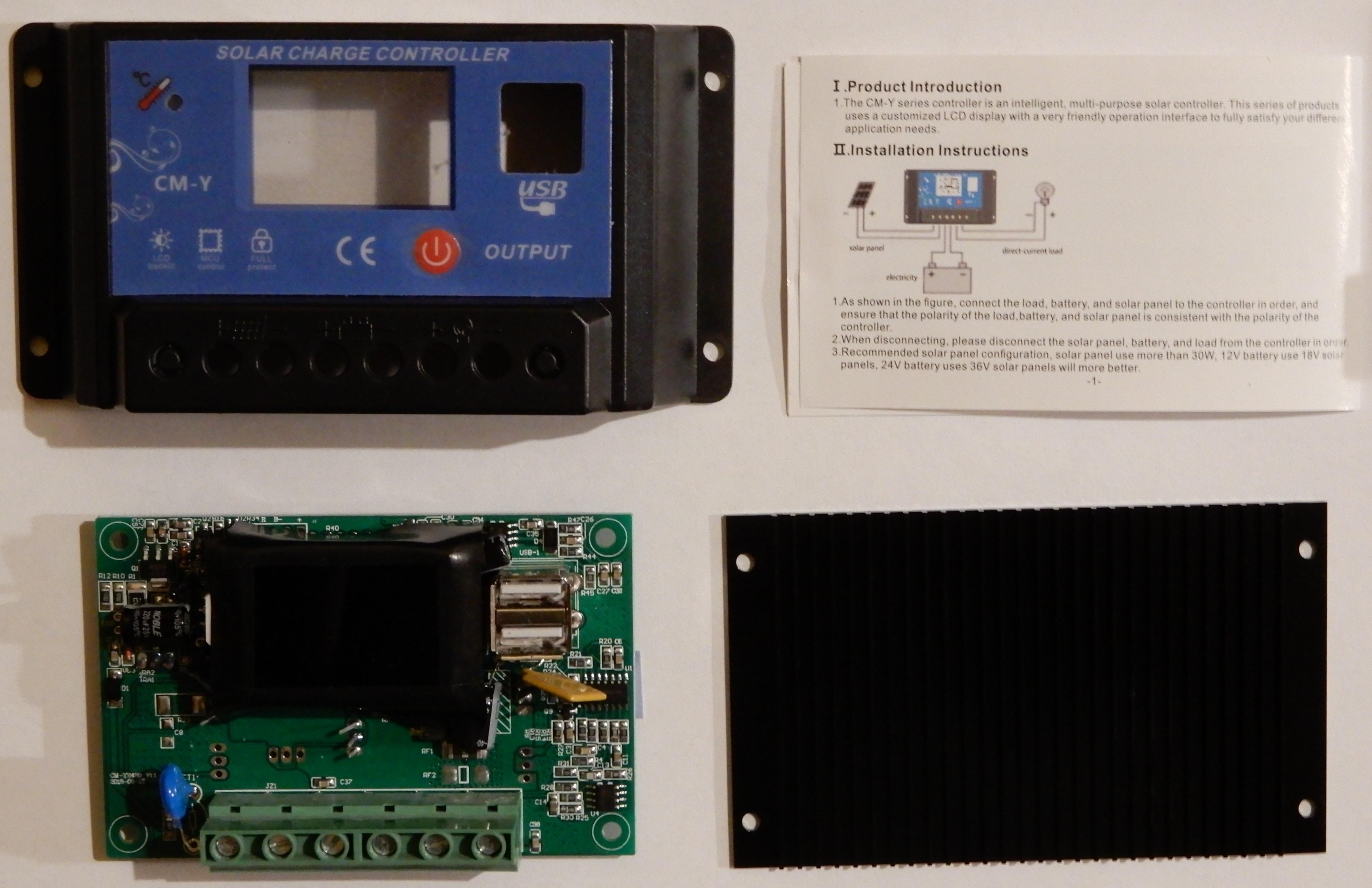 Solarbetrieb der BOB-Platine, verschiedene Möglichkeiten