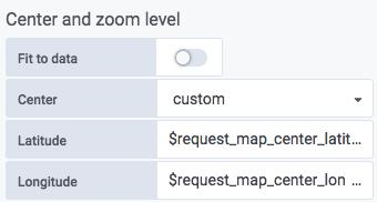 Grafana Worldmap Panel NG - Benutzerschnittstelle / User