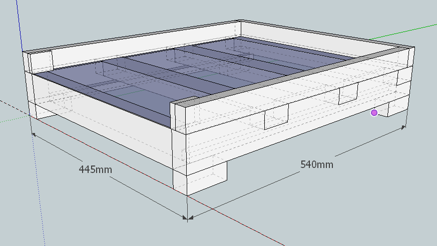 2020-03-18 17_15_28-gitterboden_vorlage-3d-ansicht_v0.2.skp - SketchUp Make 2017